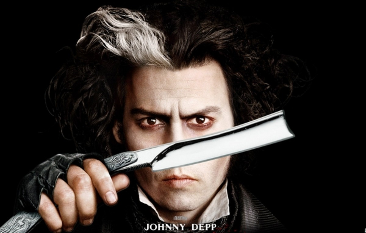 Johnny Depp as Sweeney Todd [Wiki]
