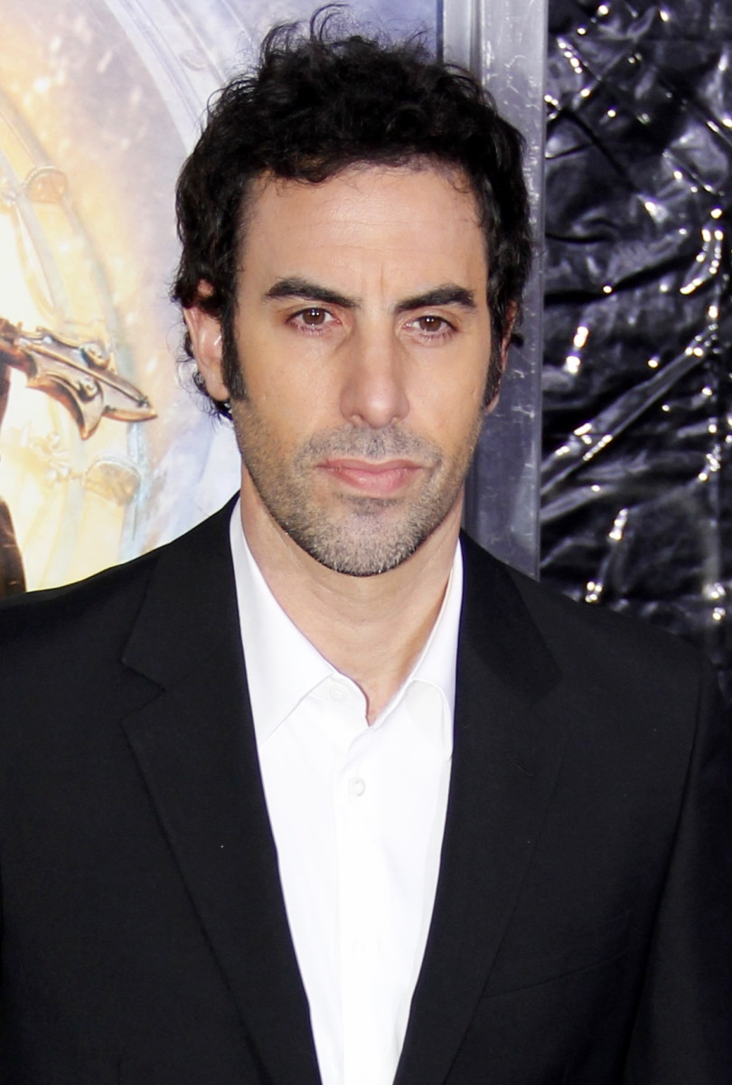 Sacha Baron Cohen at the Hugo Premiere, New York City 2011.