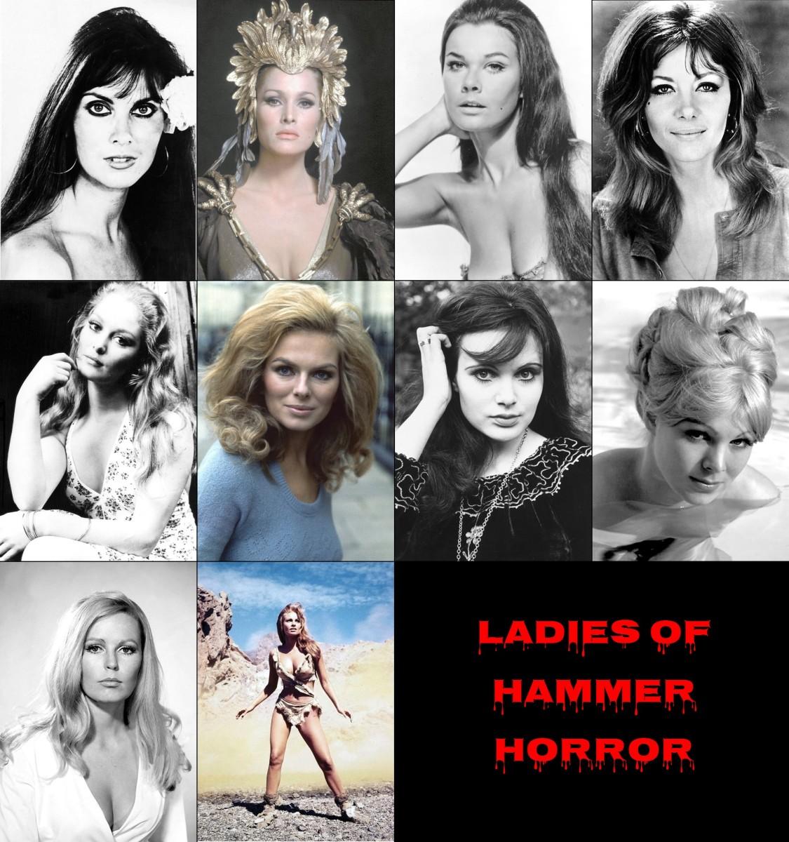 Lovely Ladies of Hammer Horror Films