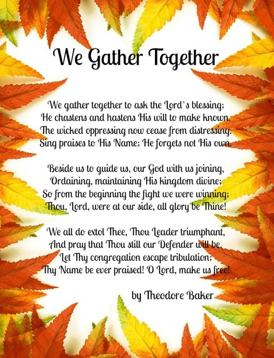 We Gather Together by Theodore Baker