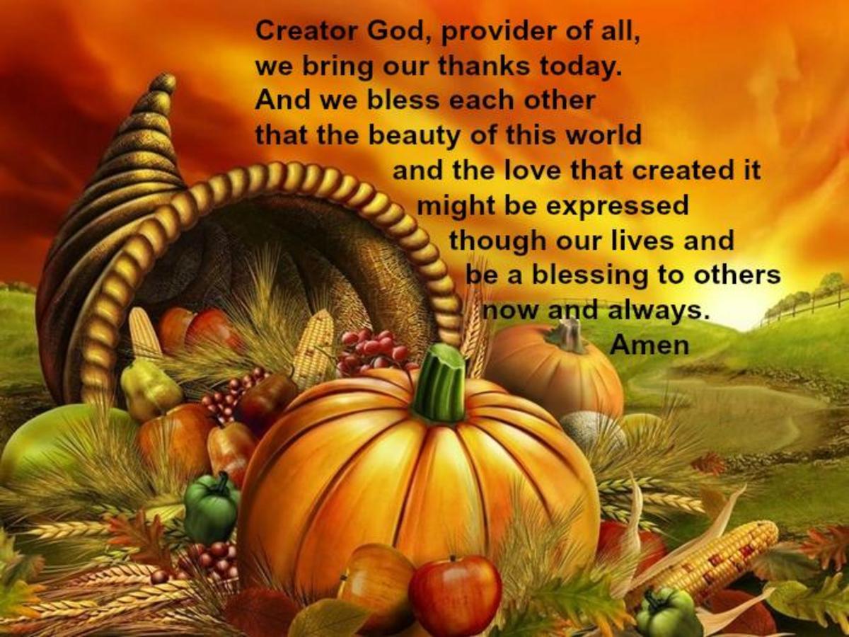 Harvest Festival Blessing