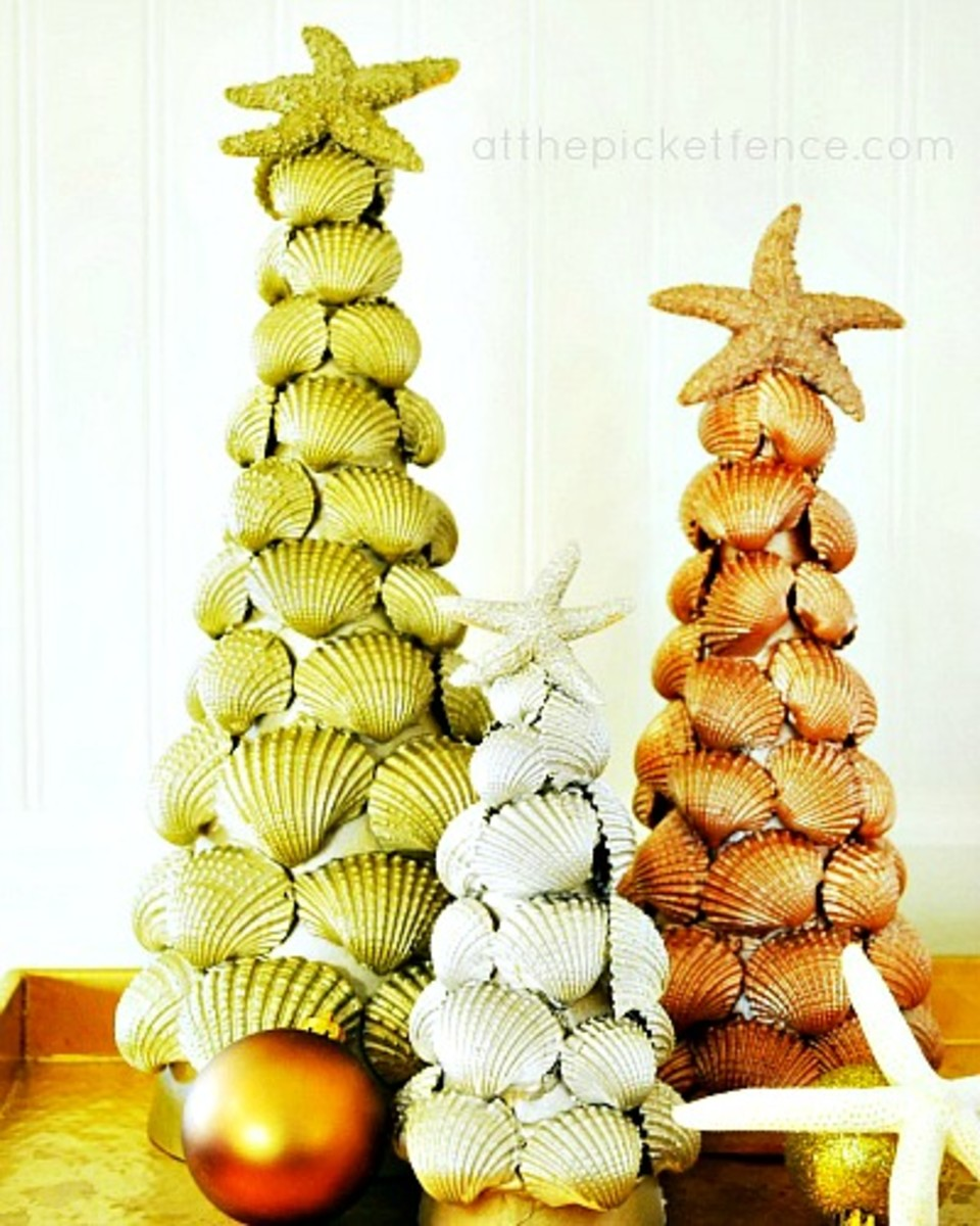 how-to-make-seashell-topiaries