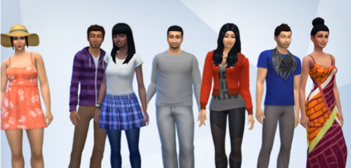 The Sims 4 Real World Challenge Rules