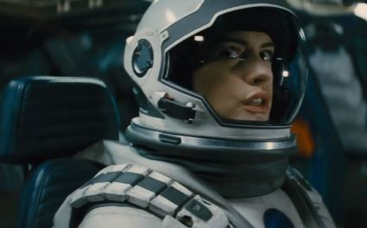 Anne Hathaway as Amelia Brand