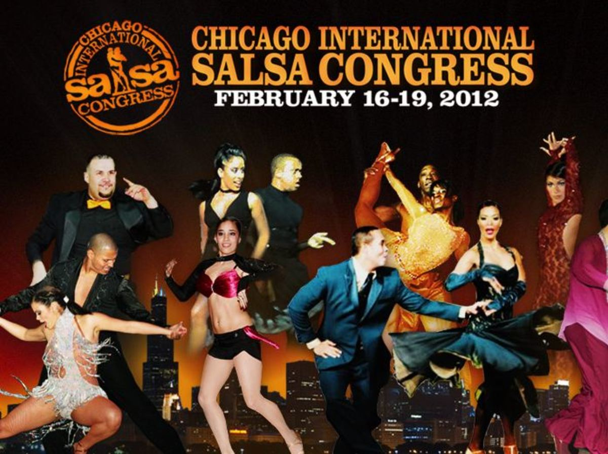 The Chicago International Salsa Congress takes place every year in February and welcomes dancers from all over America and the world. Many major cities host a salsa congress every year!