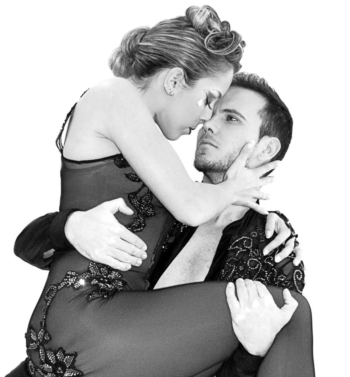 Dancing with your romantic partner can be a very rewarding experience that adds drama and passion to your relationship!