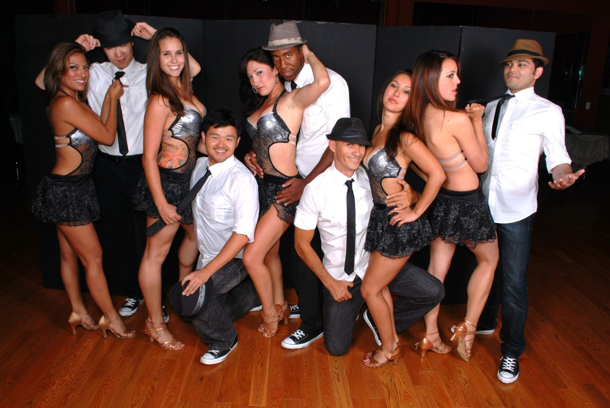 Salsa dance team