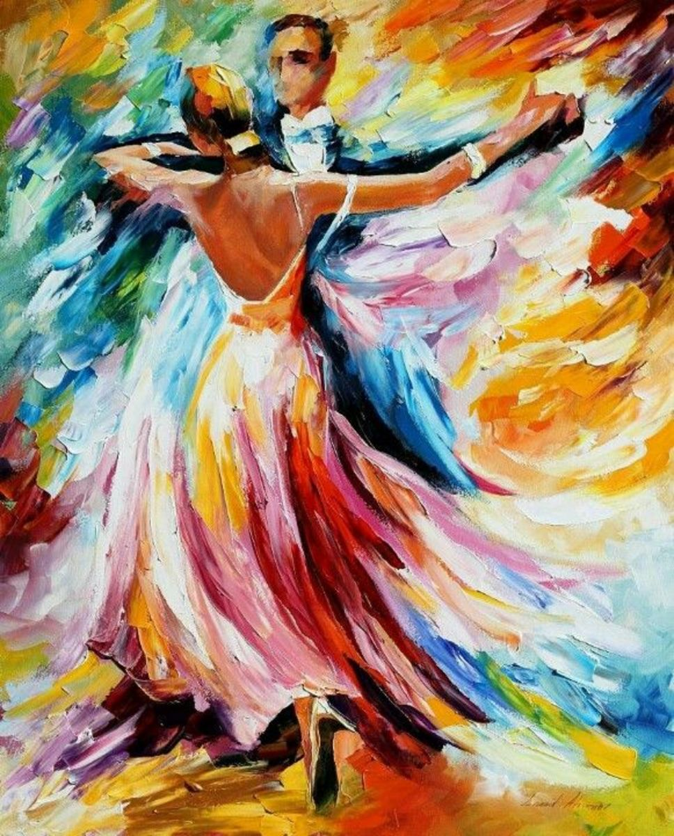 Ballroom dancing can be a beautiful wonderful experience as you continue to learn and grow, both as a dancer and as a person