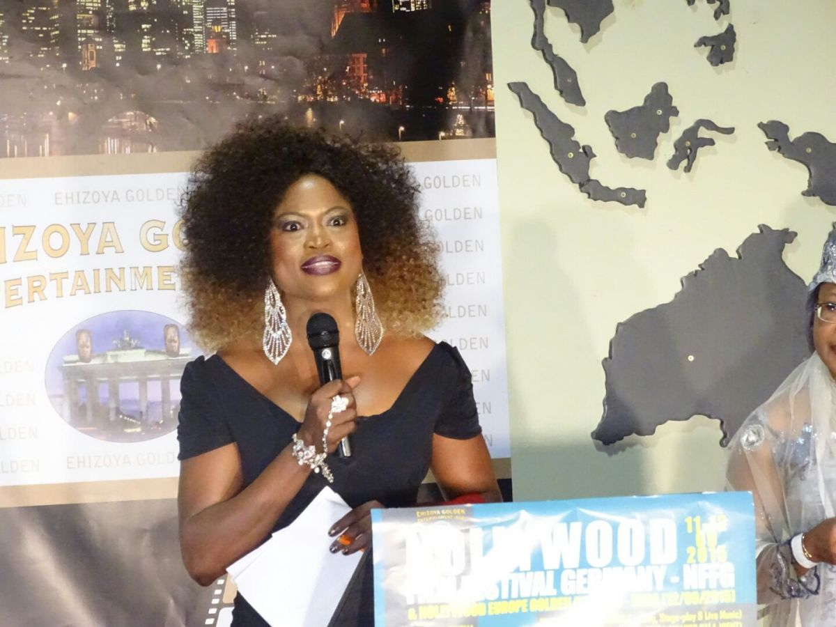 Queen Blessing served as Host of the Nollywood Awards of 2015 in Germany.