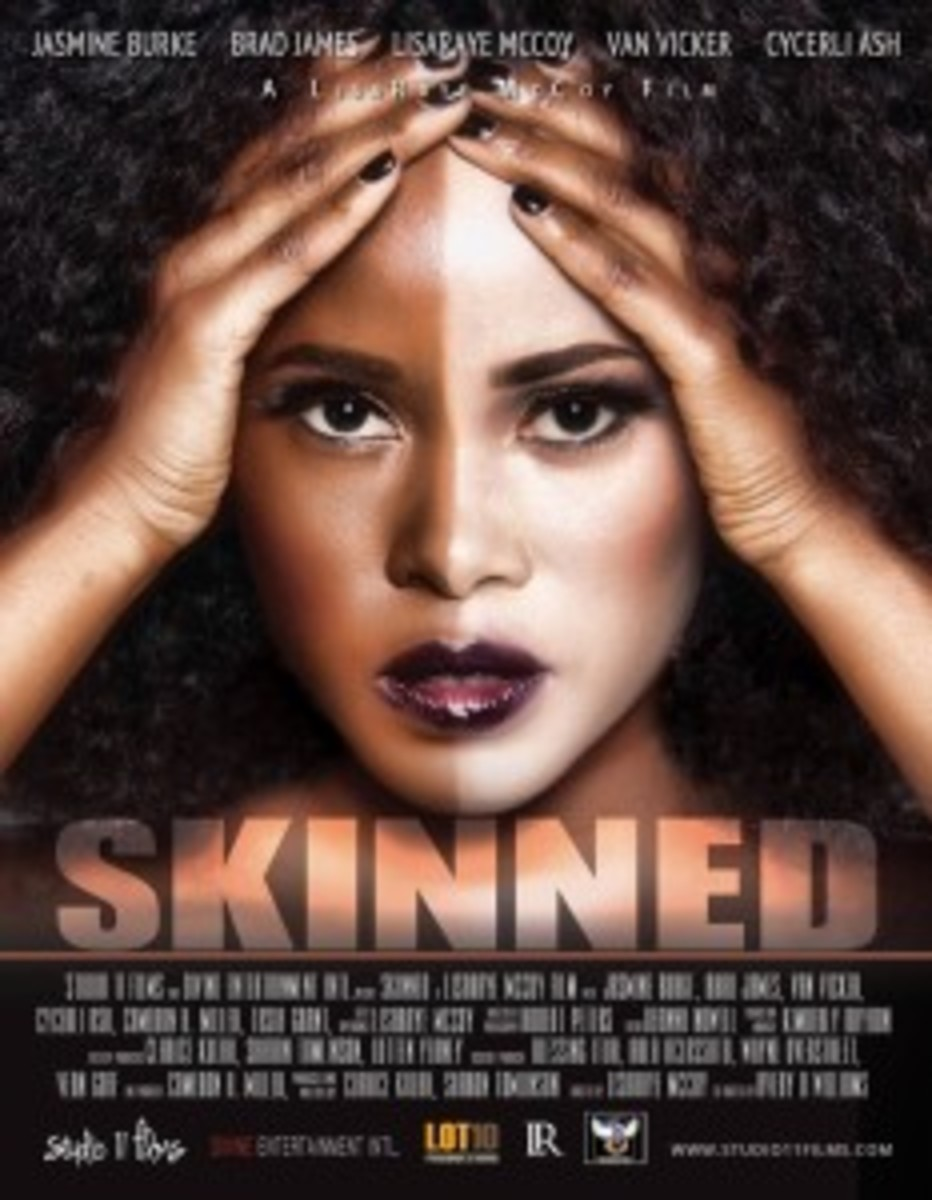 The movie, Skinned, is about the psychological and health risks of skin bleaching.