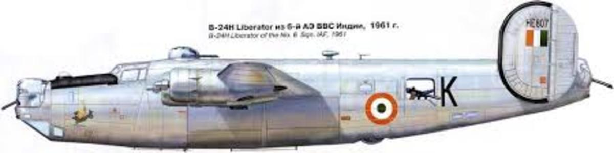 The History of the Liberator( B-24) Heavy Bomber in the Indian Air Force