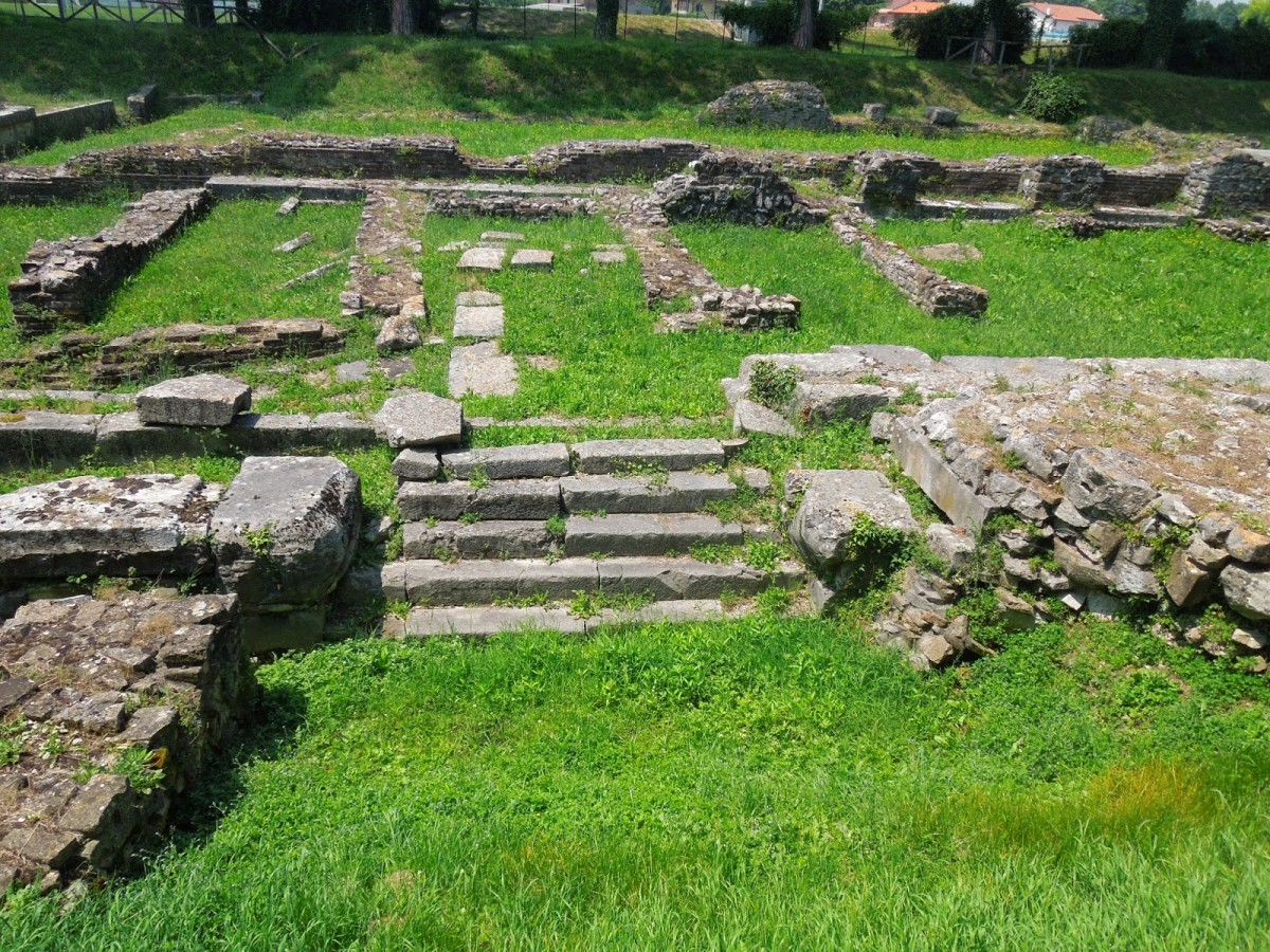 site of Roman warehouse
