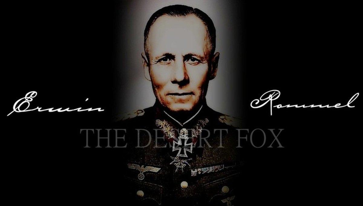 """Erwin Rommel, the """"Desert Fox""""."""