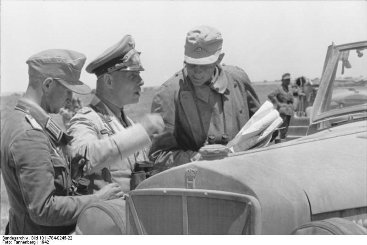 Rommel prepares his offensive at Tobruk