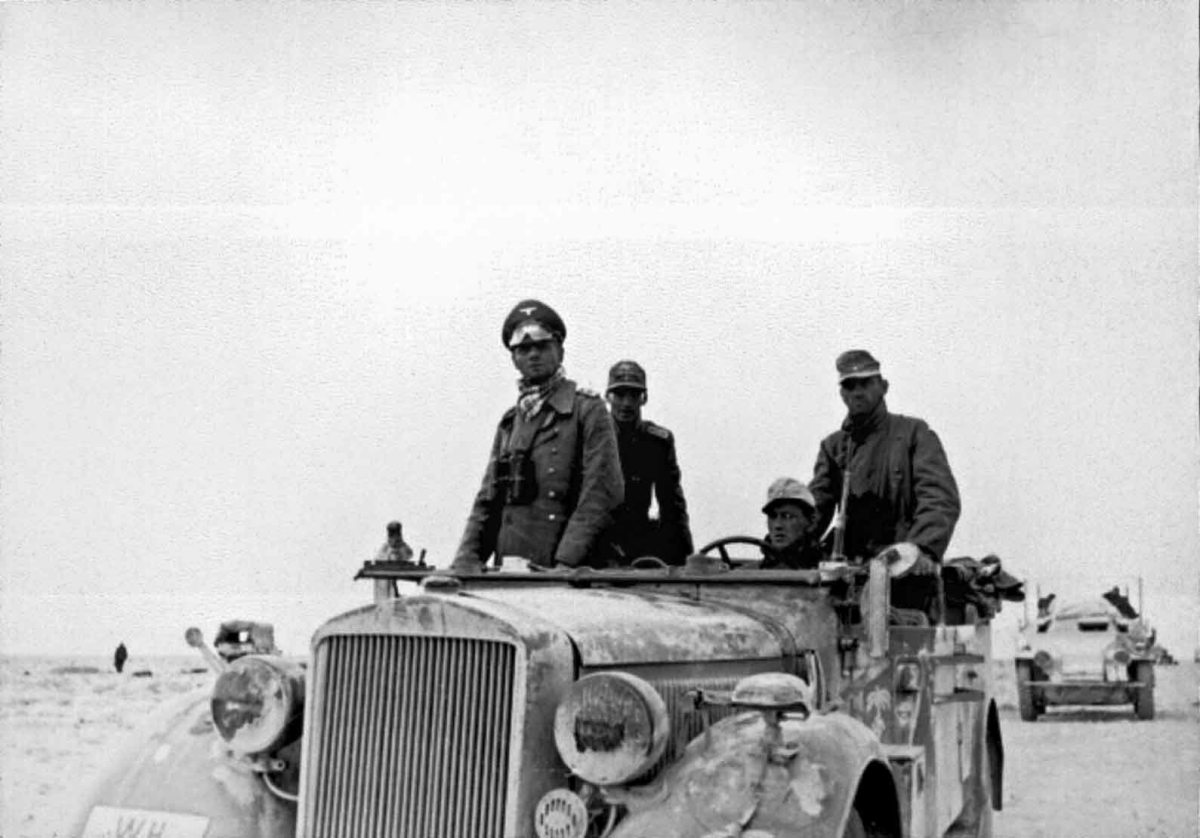 At the Operation Crusader