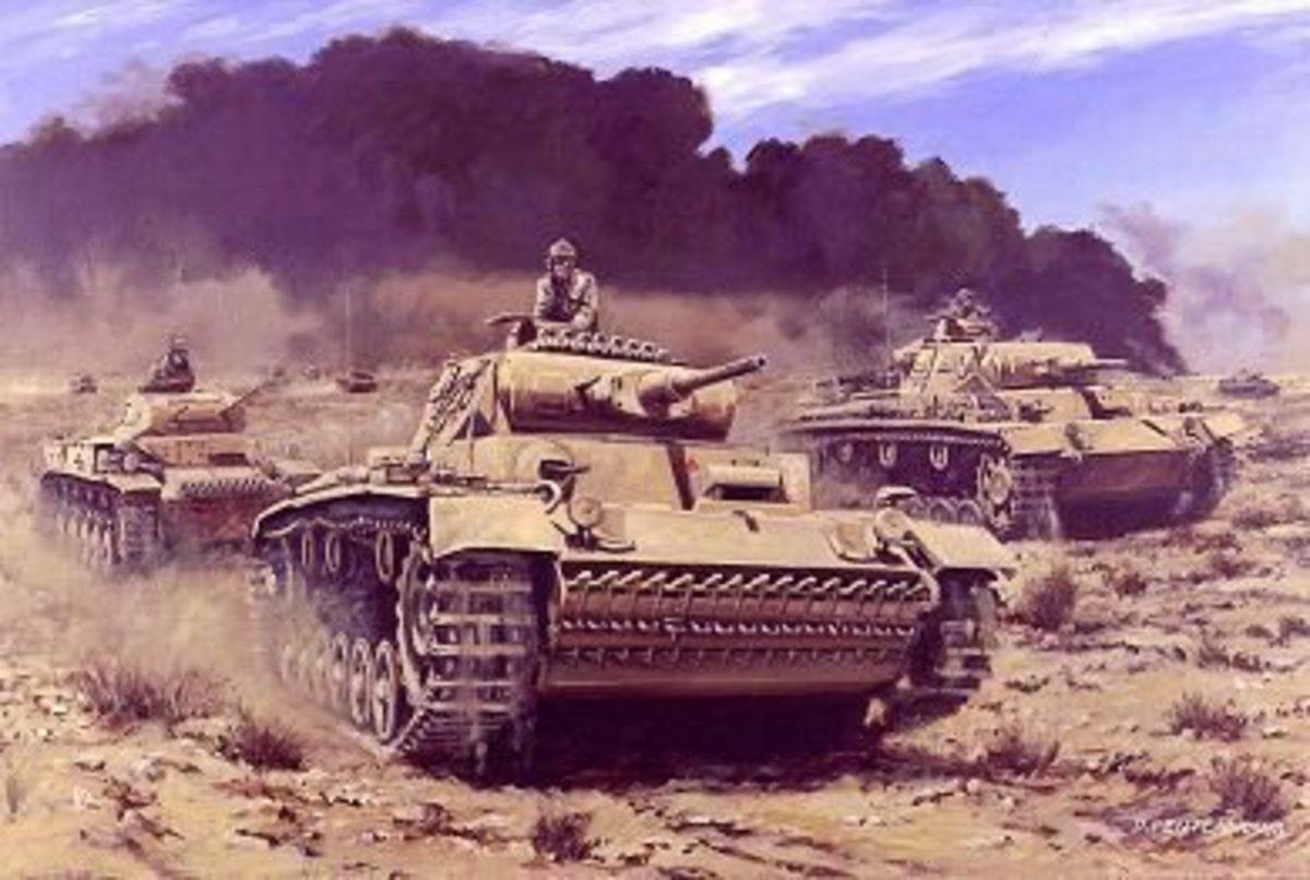 Poster of Rommel in Libya