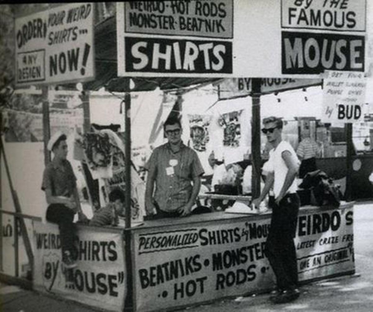 T Shirt Booth at Michigan State Fair