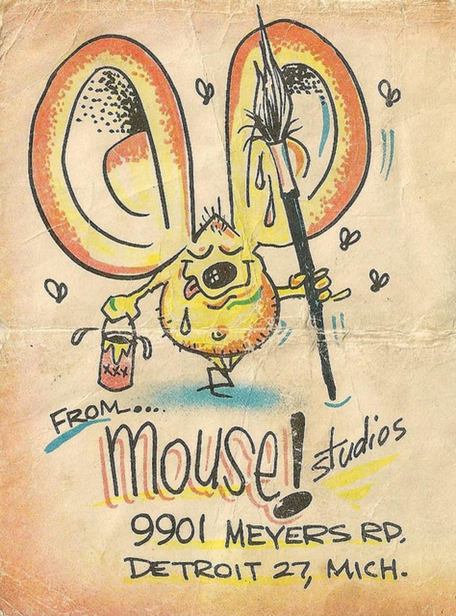 Vintage Kustom Kulture Hot Rod Monster Models by  Mouse