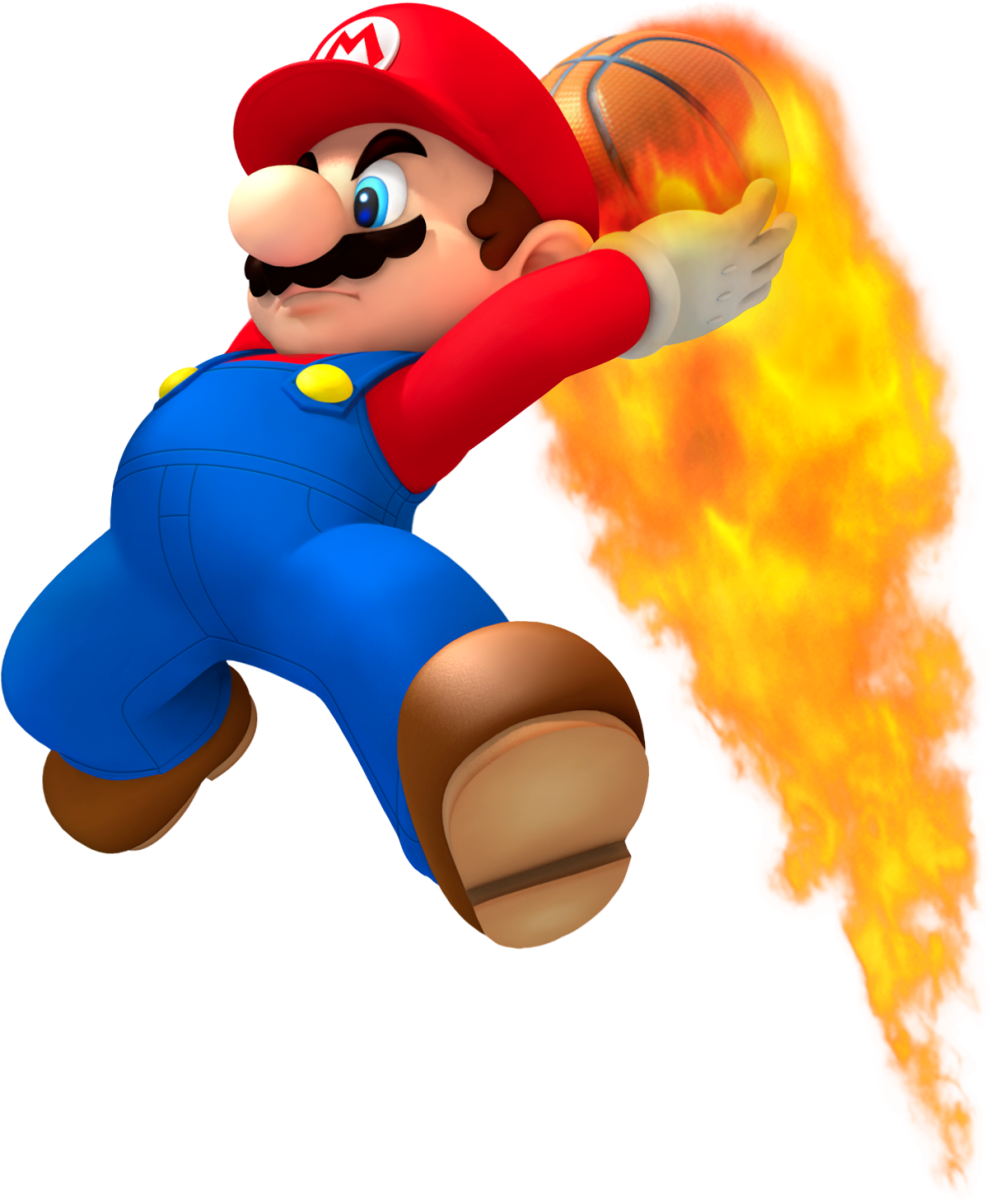 Mario's portly build and short height make him the perfect athlete. Wait, what?