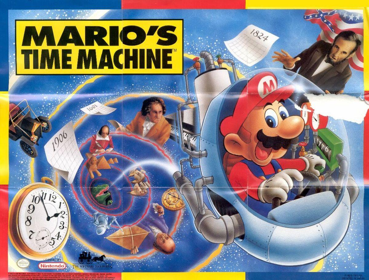Mario's Time Machine.