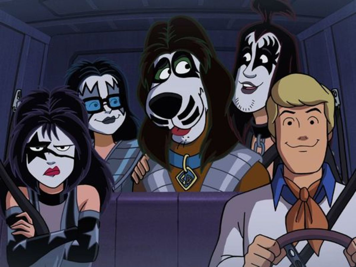 "Worlds Collide in ""Scooby-Doo and KISS: Rock and Roll Mystery"""