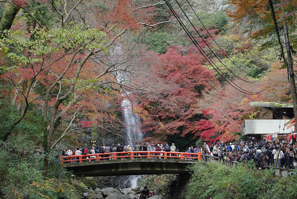 Mino Waterfall Osaka Japan