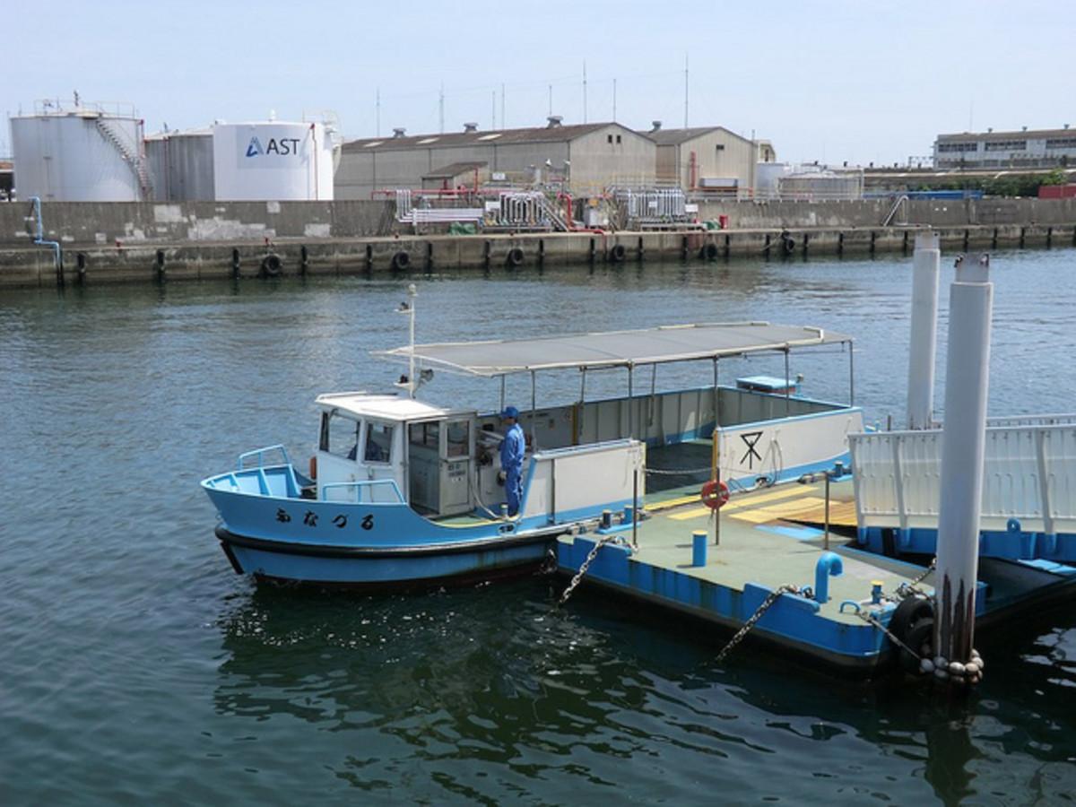 Funamachi ferry Taisho Osaka Japan
