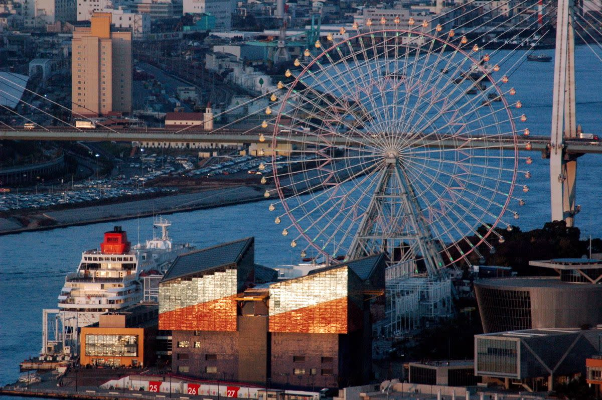 Tempozan Ferris Wheel Osaka Japan
