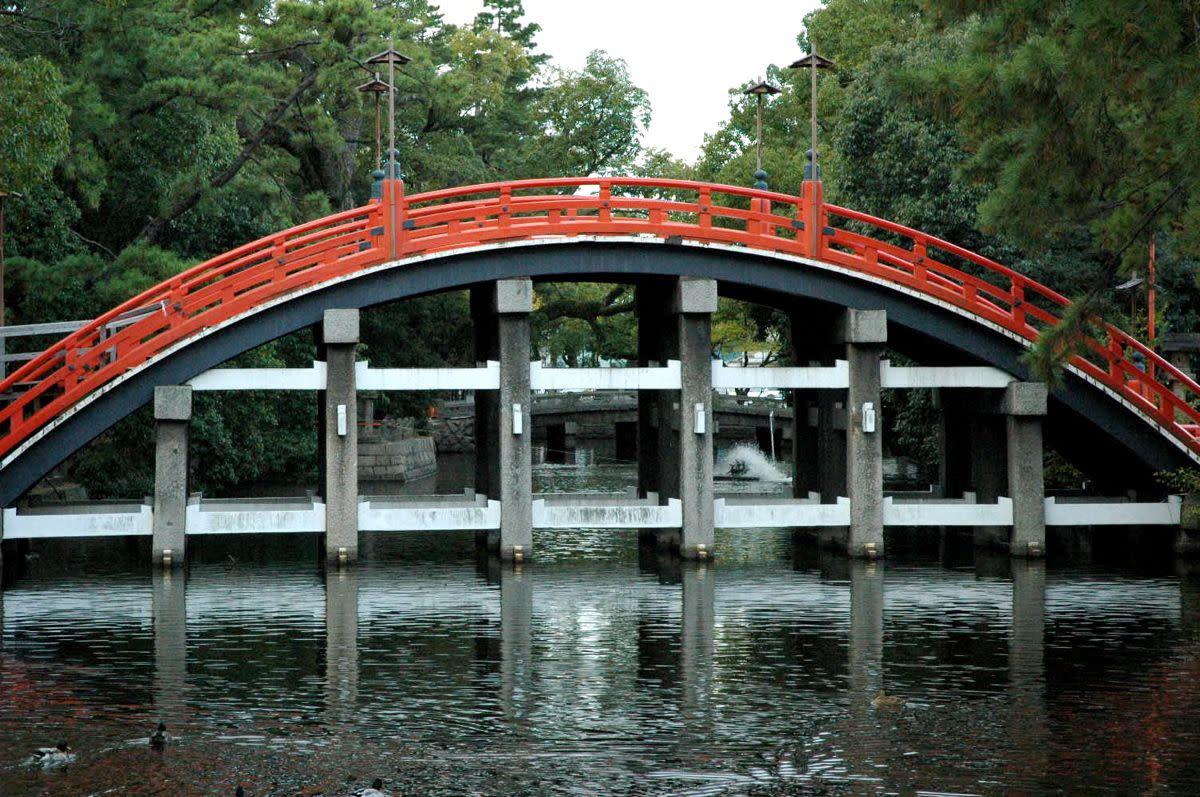 Sumiyoshi Taisha Shrine Osaka Japan