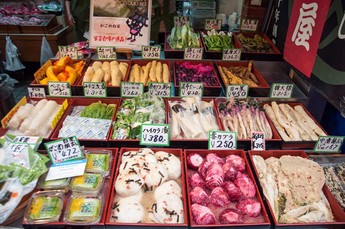 Kuromon Market Osaka Japan
