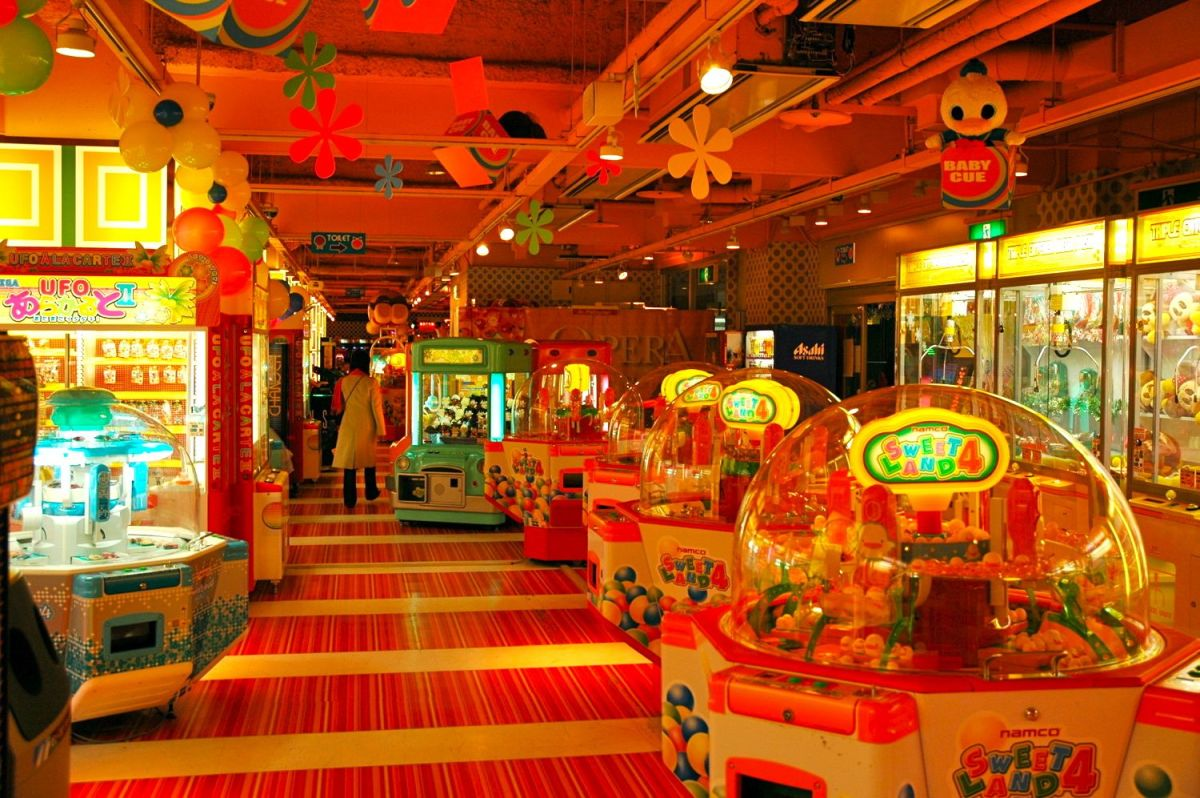 Game Center Asia Pacific Trade Center Osaka Japan