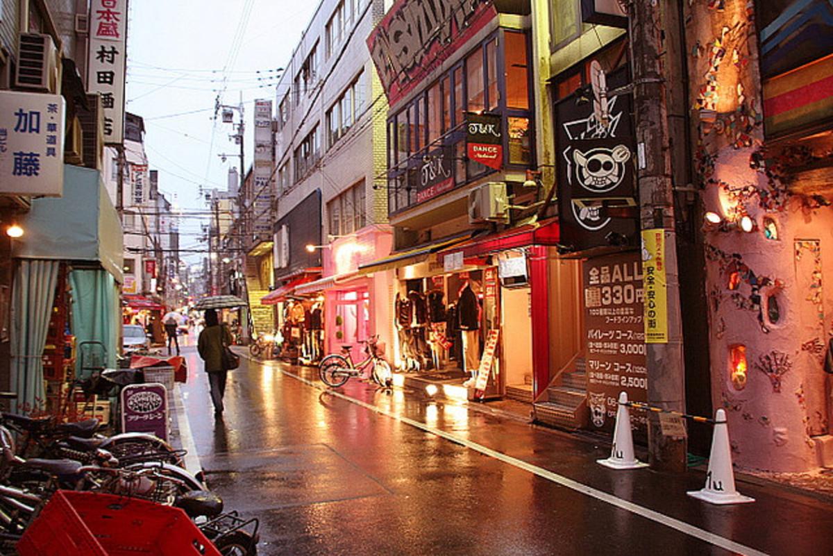 America Mura Osaka Japan