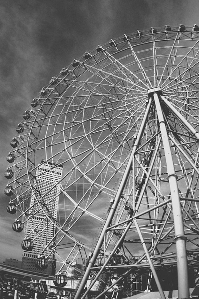 Ferris Wheel at Rinku Town Osaka Japan