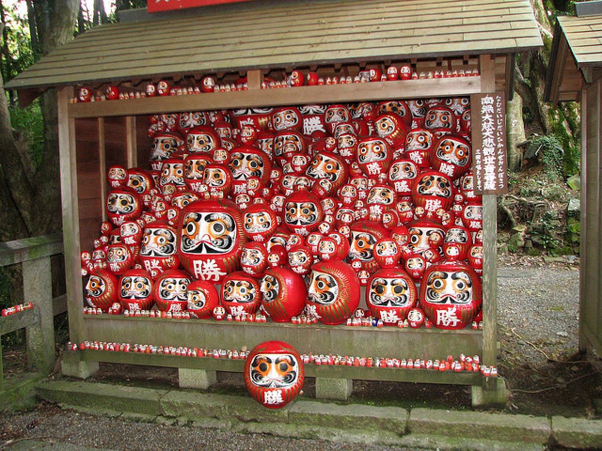 Katsuoji Temple Daruma