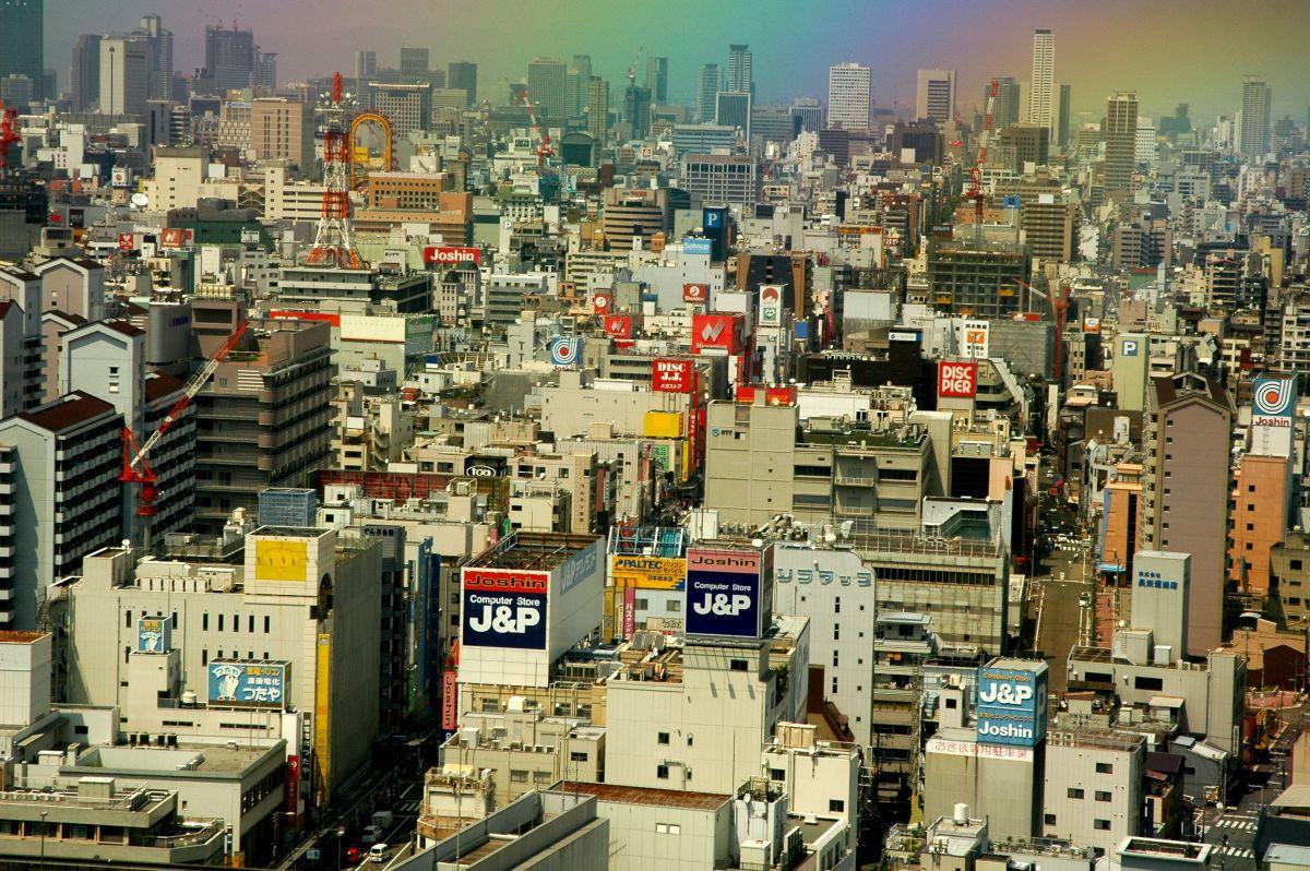 Nipponbashi Den Den Town Osaka Japan
