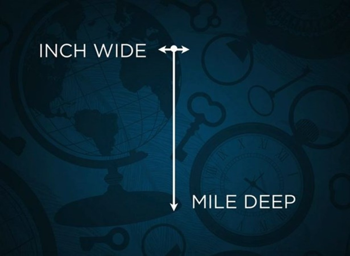 Teaching: Why A 'Mile Deep, Inch Wide' Approach Isn't Always Best
