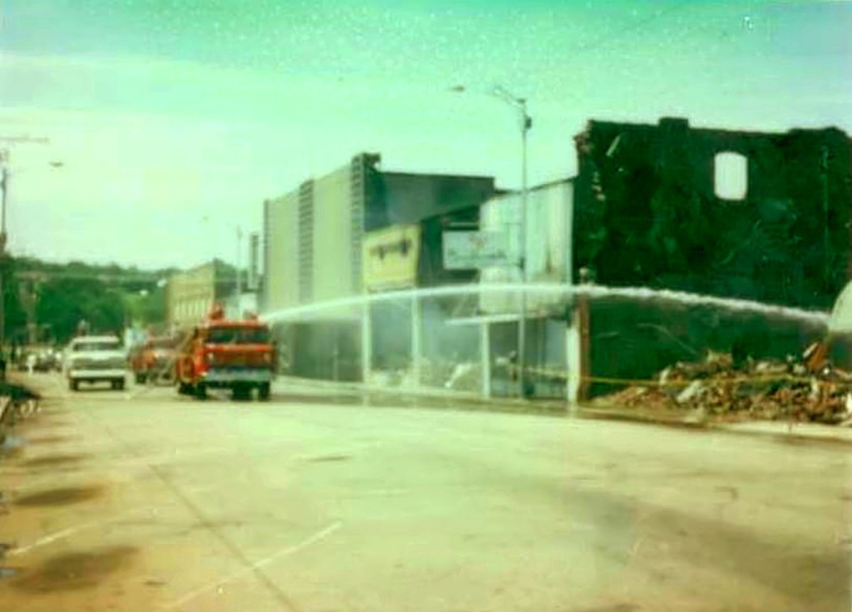 The Victory Theater Fire in 1981