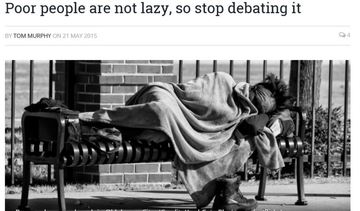 Calling people lazy because they aren't doing what you think they should be doing is often unkind, cruel, and mostly just plain wrong!
