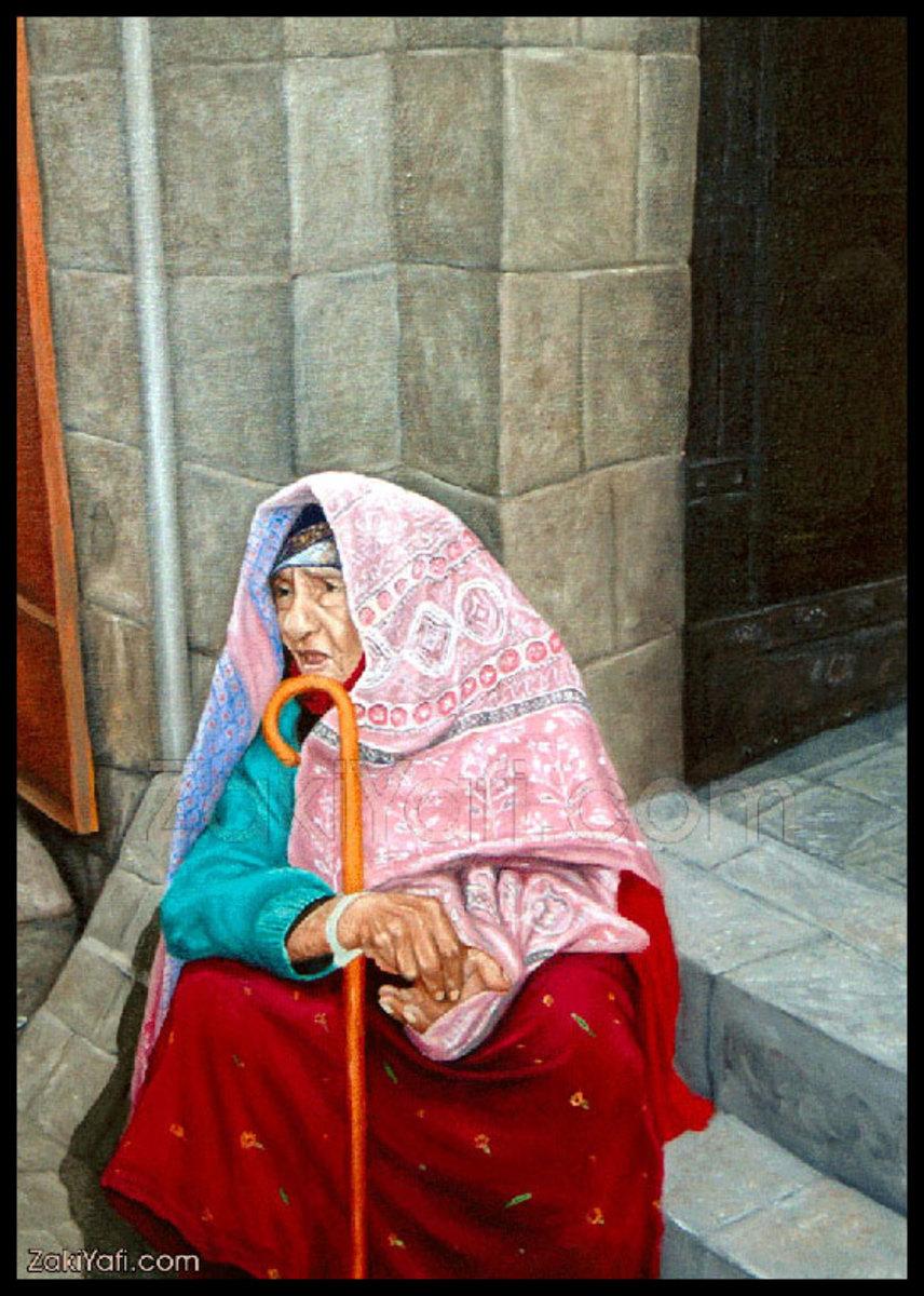 The Sana'ani Sitarah in arts in Yemen - Artist Zaki Yafi