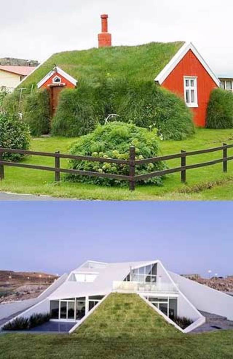 Underground earth sheltered homes past present and Earth bermed homes
