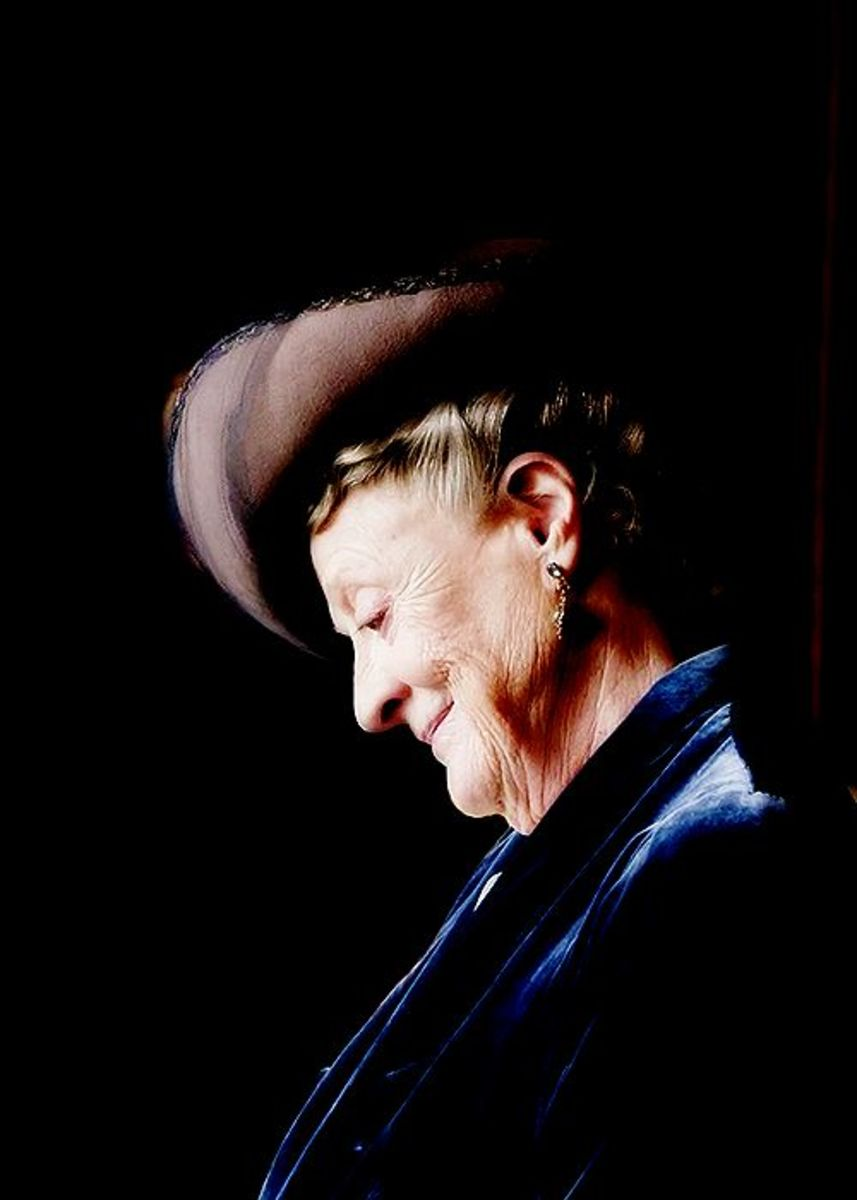 Maggie Smith as Countess Violet Crawley