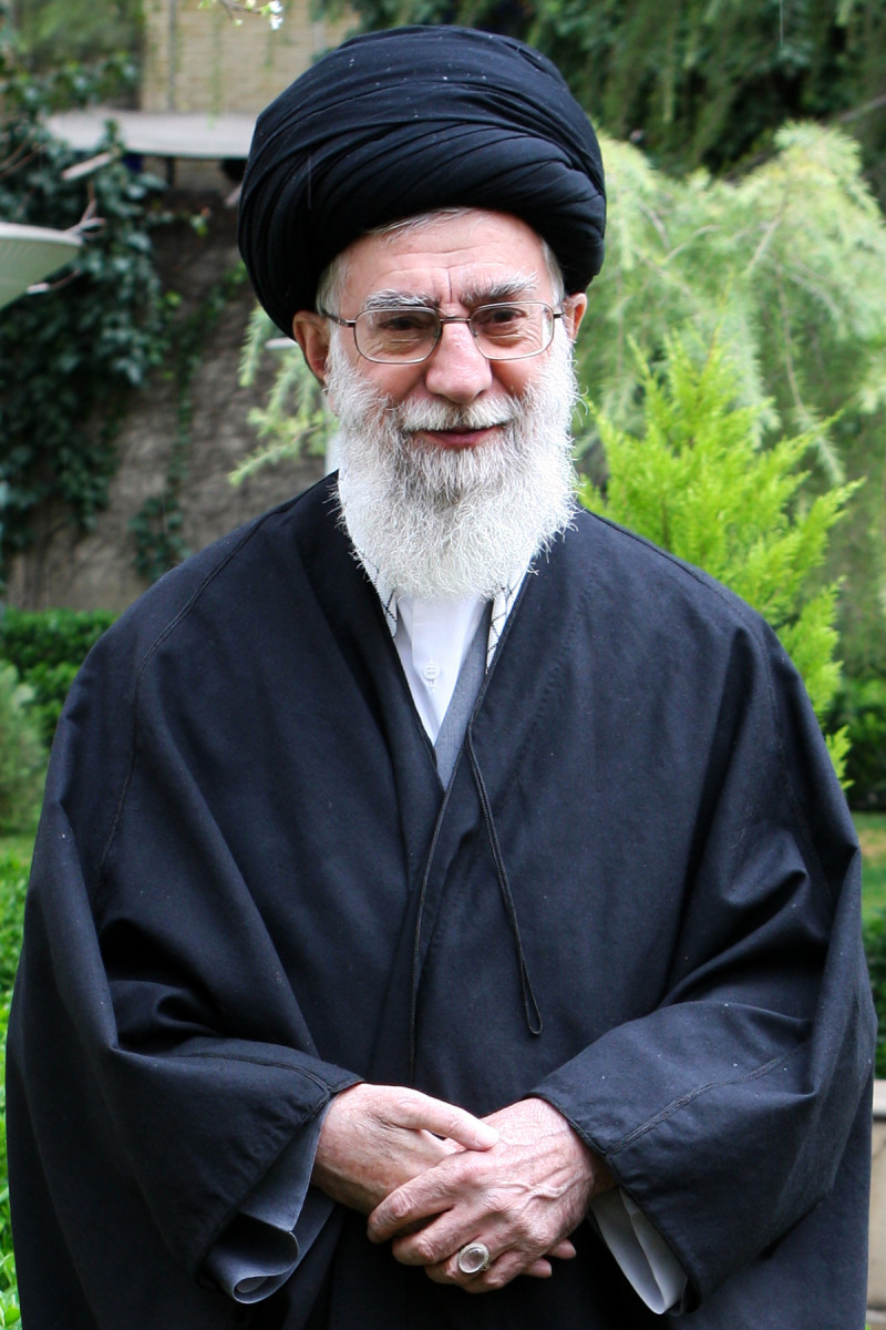Ayatollah Khamenei:  Current Supreme Leader Of Iran Troubled By The West.