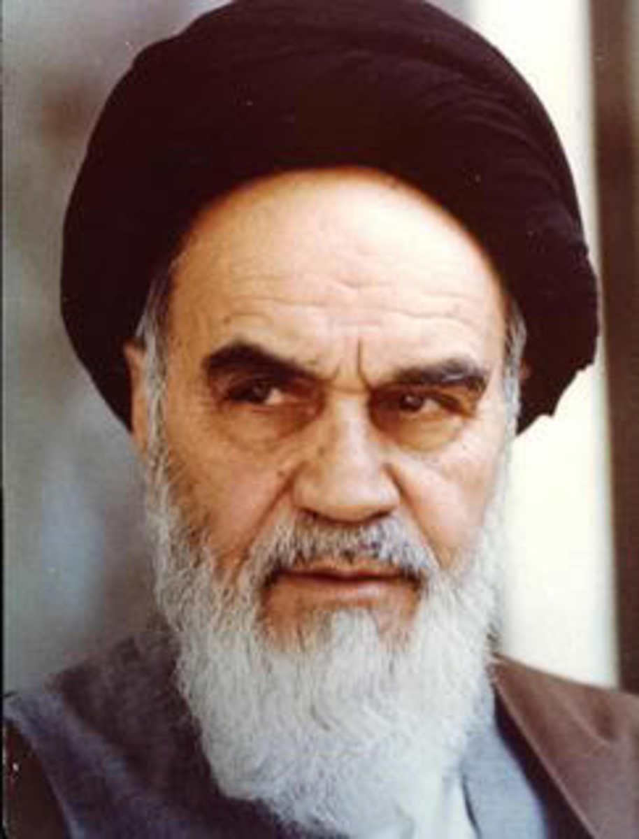 Ayatollah Ruhollah Khomeini:  Founder Of The 1979 Revolution.