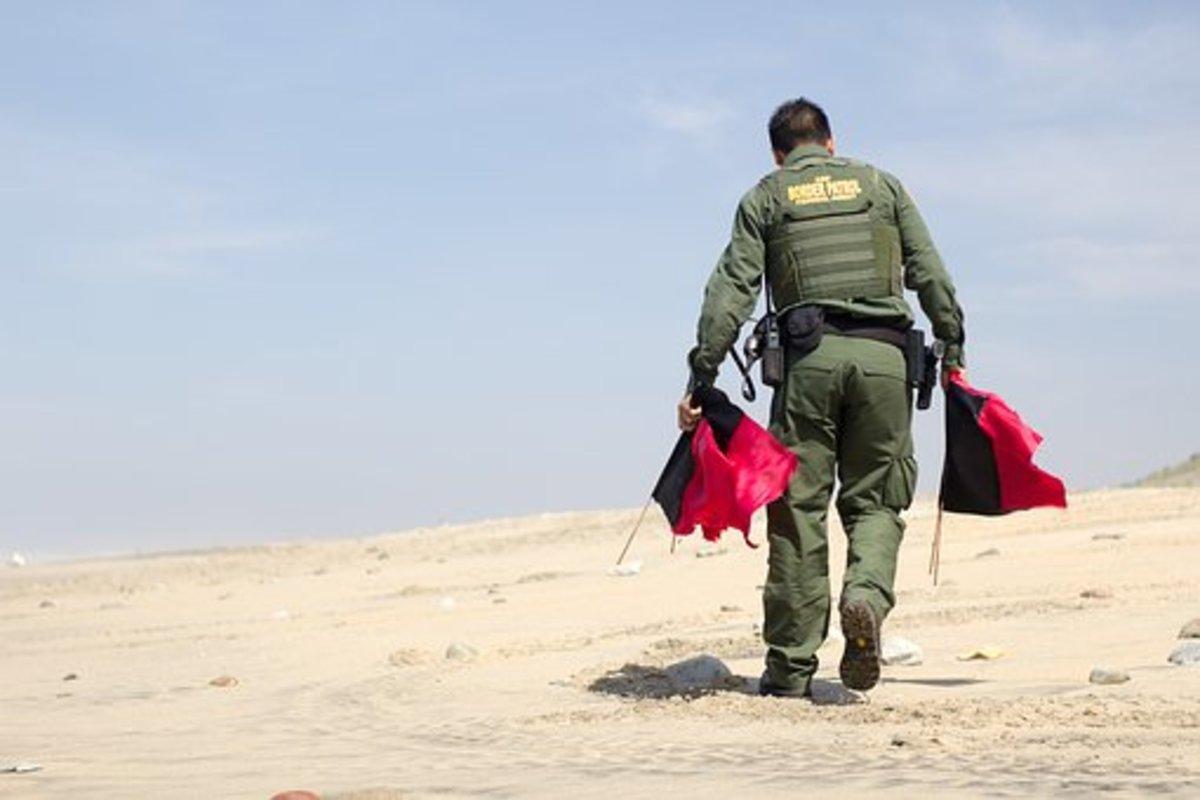 A member of the Border Patrol