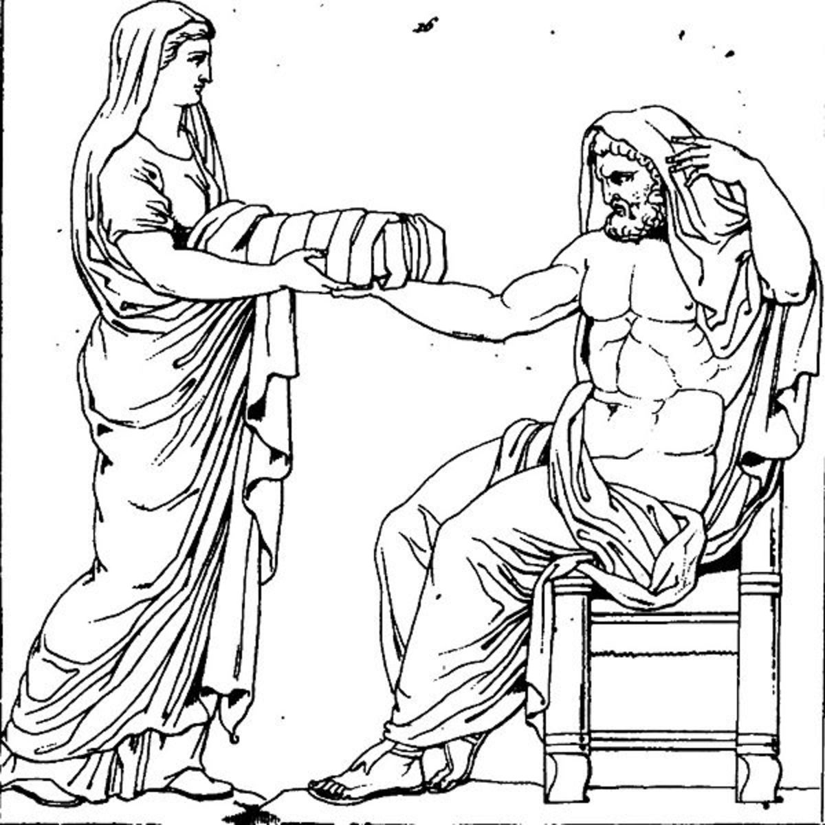 Rhea - Galerie mythologique, tome 1 d'A.L. Millin - PD-life-100