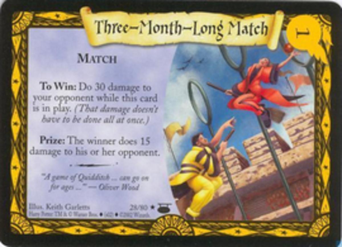 Three-Month-Long-Match