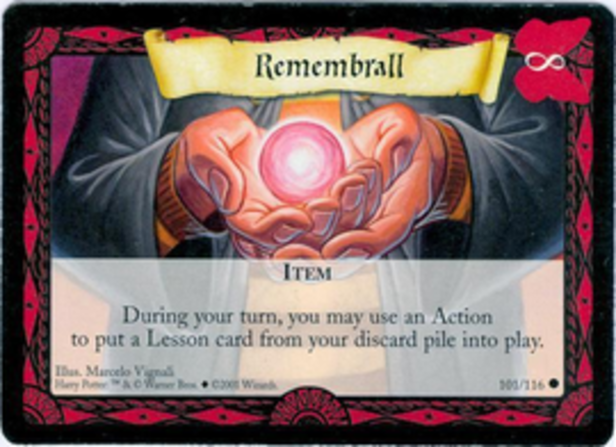 How to Play the Harry Potter Trading Card Game (Part 2)