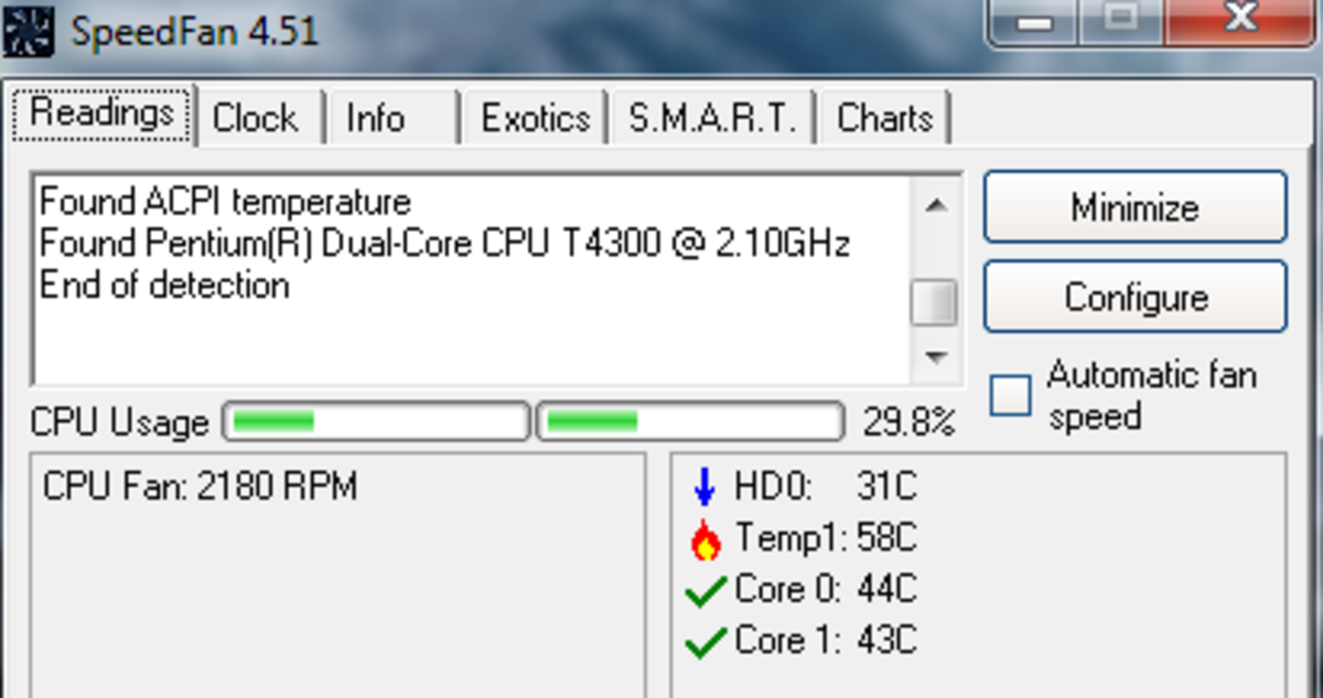SpeedFan will alert you when system temp goes overboard