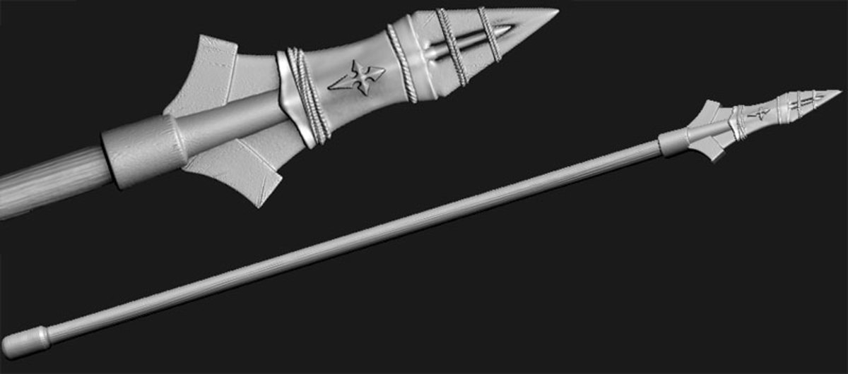 from tworguidewikia.com -- what the spear of destiny may have looked like in full.