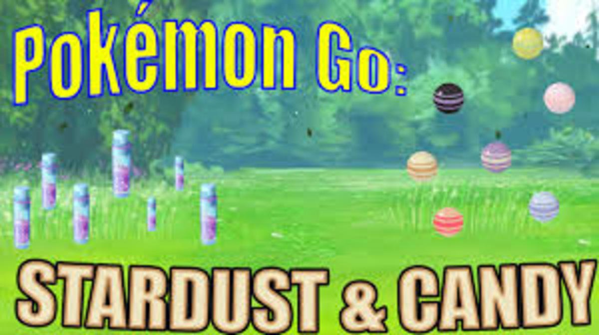 Stardust and Candy are rewards on Pokémon Go